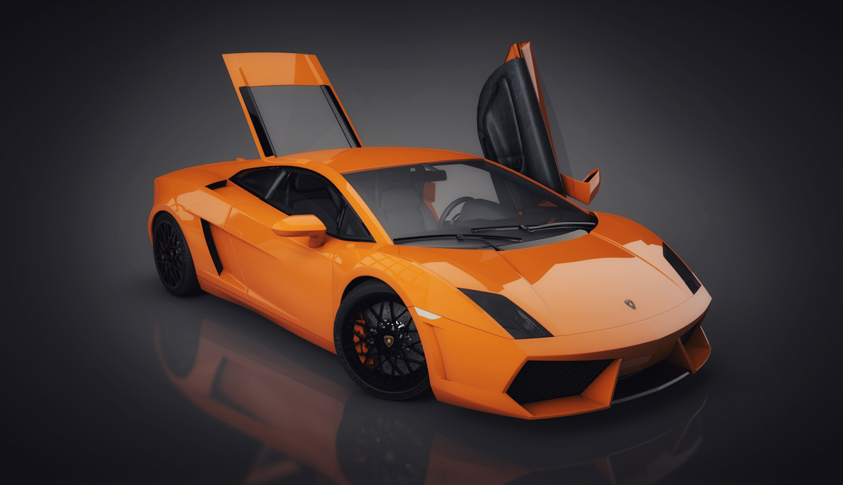 Lamborghini - Infidio Pro - Cinema 4D Lighting Studio