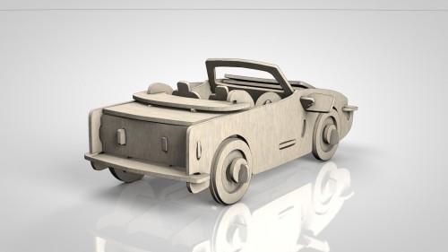 Wooden Car _02
