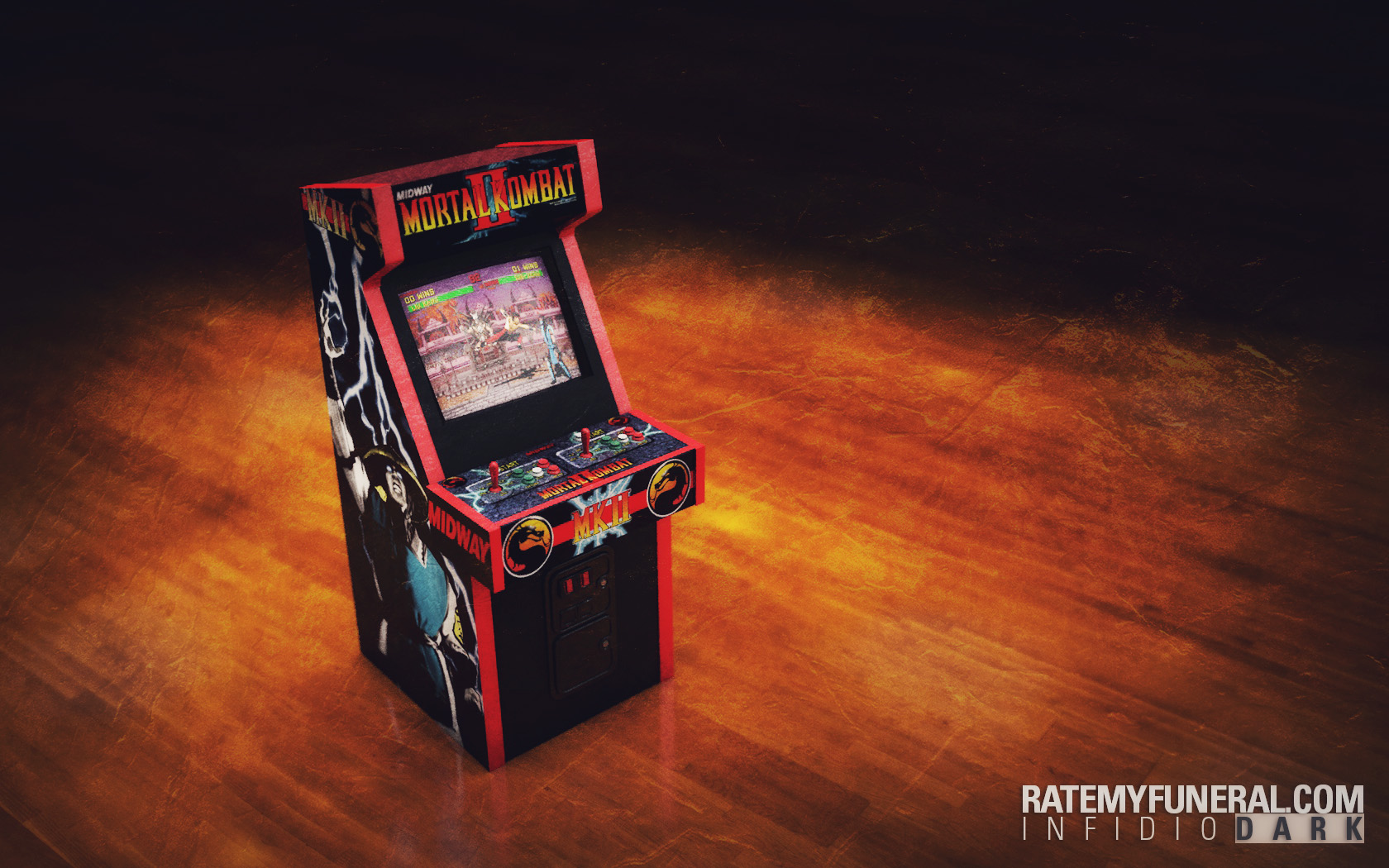 Cinema 4D Tutorial + Free Arcade Cabinet Model | Rate My Funeral